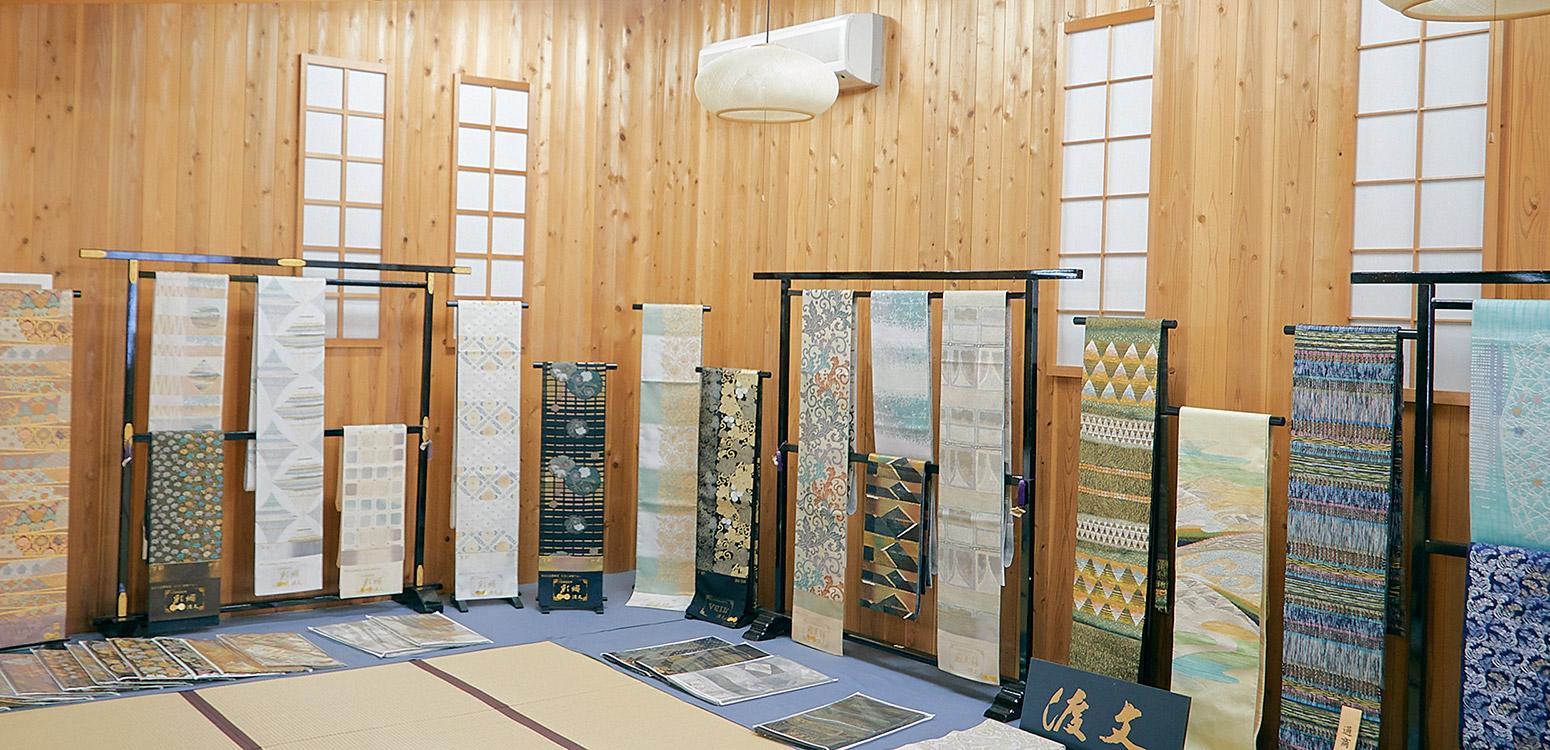 京都きもの巡り 西陣織について