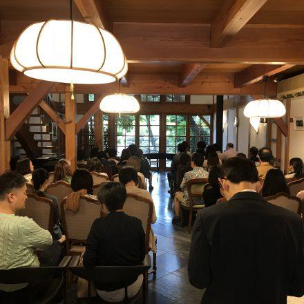 京都西陣の貸館須佐舎のコンサート