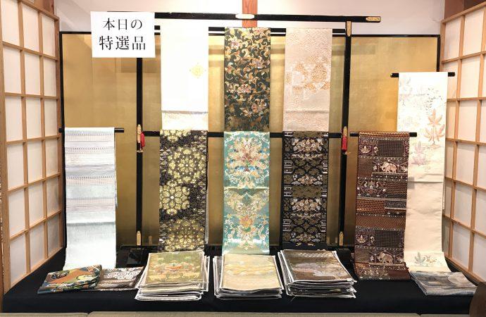 長崎で渡文の帯販売会を行います