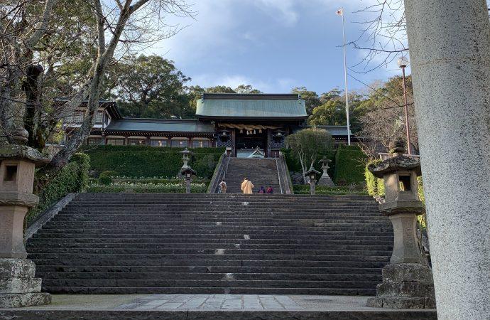 長崎諏訪神社の階段とお祭り・御朱印